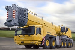 The GMK6450 from Manitowoc offers significant lift capabilities