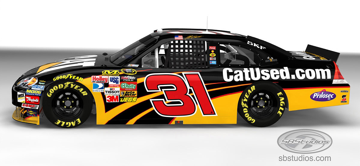 CatUsed goes NASCAR racing | Equipment World | Construction ...