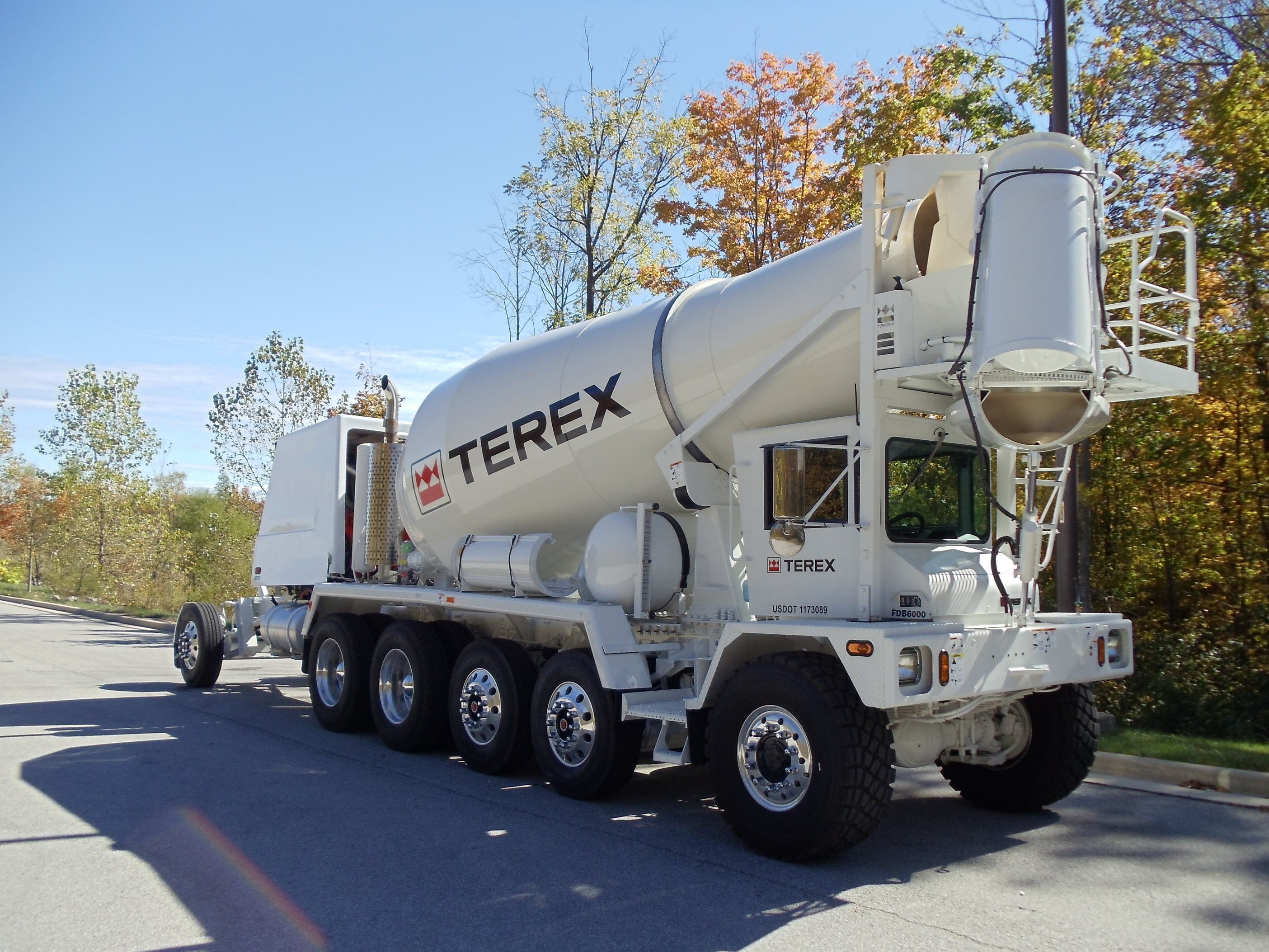 Terex Introduces Front Discharge Mixer Truck Line