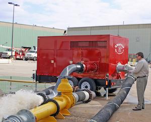 Griffin dewatering pump