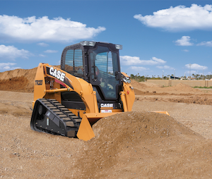 Case Construction Equipment's Alpha Series TR320 compact=