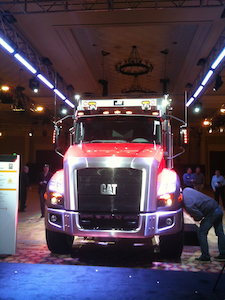 Caterpillar CT660 vocational truck unveiled on March 20, 2011