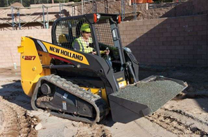 New Holland Construction introduced its new C227 compact track loader at CONEXPO-CON/AGG 2011 in Las Vegas