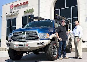 ProPickup magazine's 2010 Big Boss Winner receives keys to truck