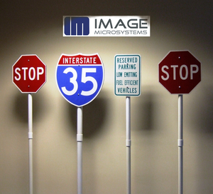 Image Microsystems Recycled Plastic Signs Photo