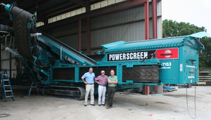 Powerscreen of Florida Rafi Bournigal (Vice President), Denis Grant (President)  & Richard Grant (President)