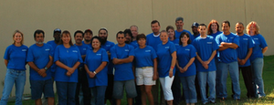Impact Recovery Systems employees celebrate 20 years in business