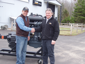 Case Donates Engine to NE WI Technical