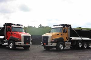 Cat CT 660 vocational truck