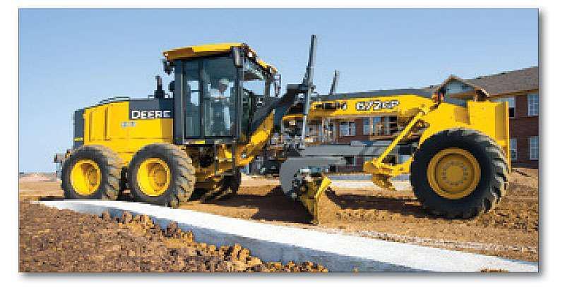 John Deere 245 Excavator Specs : Machine matters