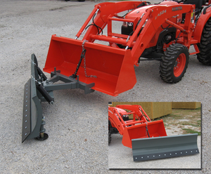 Worksaver Clamp-on Snow Blades