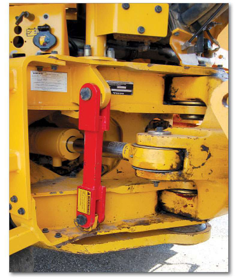 How to inspect a used articulated truck