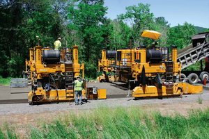 Two paver-mounted GOMACO GSI units were instrumental in helping Hinkled Contracting fine tune their paving operation. The GSI provided on-the-go feedback of pavement smoothness as Hinkle tweaked various aspects of their paving operation.