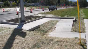 a controlled-access system was introduced that reduced the number of intersections within the project limits from 12 to seven and realigned driveways to Lakemont attractions so that traffic could be channeled for better flow