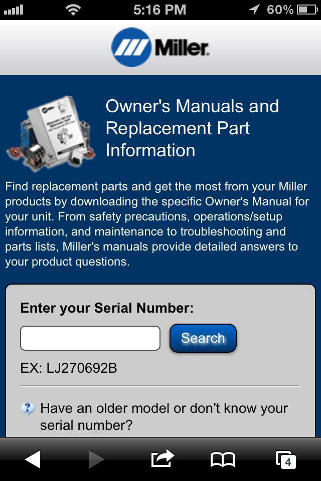 Miller Electric Mfg. launches mobile-friendly site | Equipment World ...