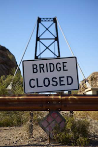 Bridge closed photo