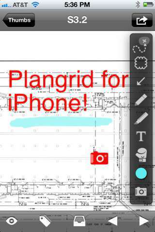 Plangrid blueprint app launches on iphone with box integration plangrid has released an app for the iphone that provides the same functionality as its popular ipad app for viewing and annotating blueprints on the malvernweather Gallery