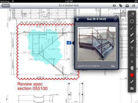 Plangrid blueprint app launches on iphone with box integration plangrid for ipad malvernweather Choice Image