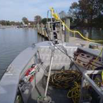Sonar tripod used primarily to obtain plan views of the channel bottom