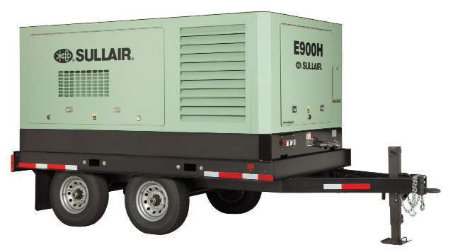 Sullair Introduces 900 Cfm Electric Portable Air Compressor