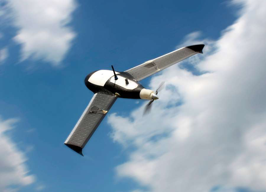 Gatewing's X100 is an Unmanned Aerial Vehicle designed for surveying.