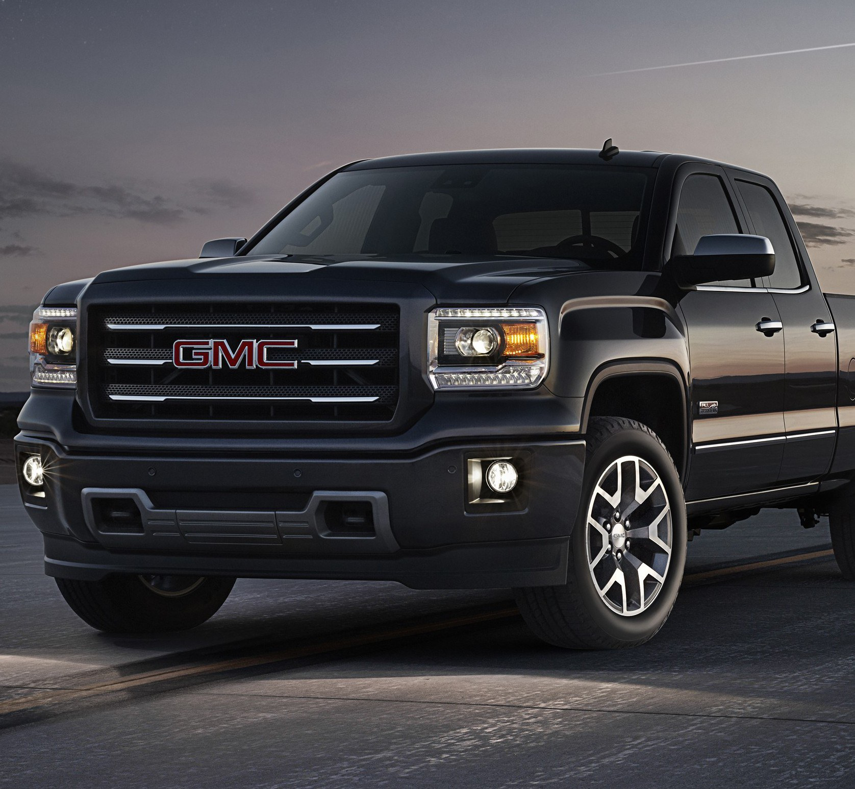 2014 GMC Sierra All Terrain Extended Cab Front Three Quarter in