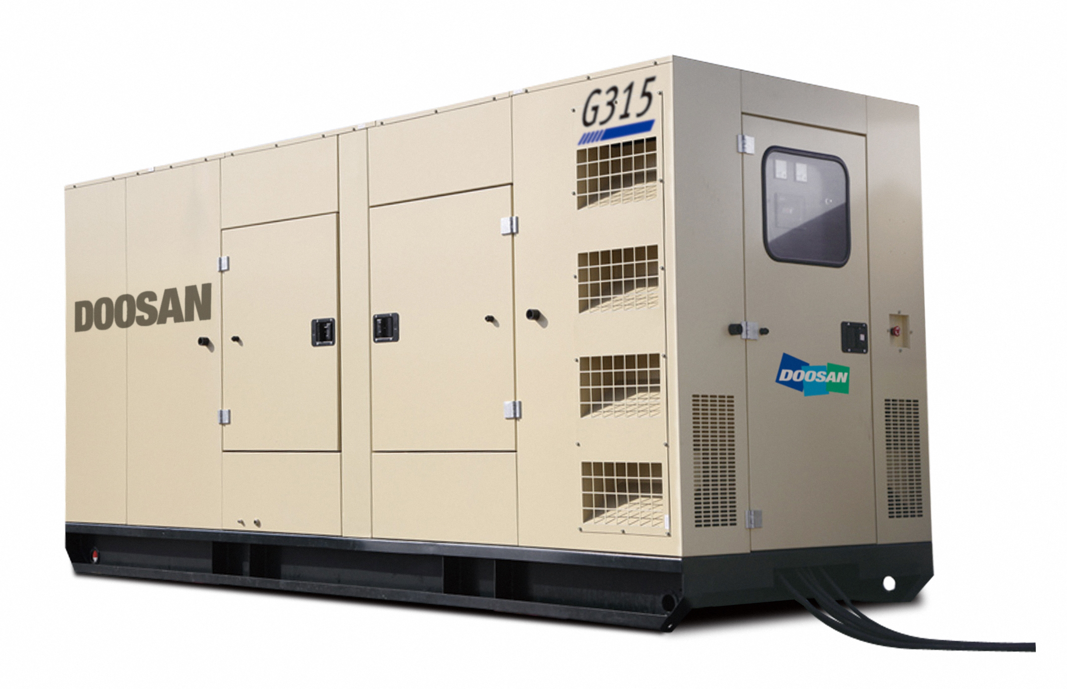 Doosan Portable Power introduces generators tar ed at specialty