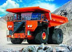 Hitachi EH5000AC3 rigid dump truck
