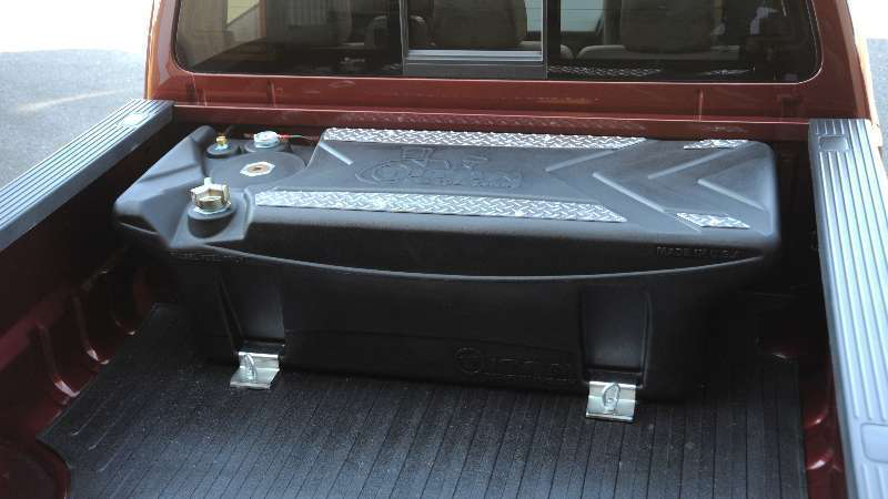 New In Bed Pickup Truck Tank Eliminates Corrosion