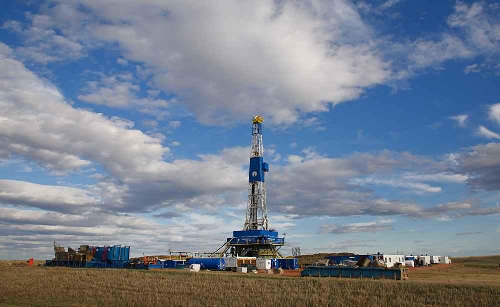 North Dakota Oil rig