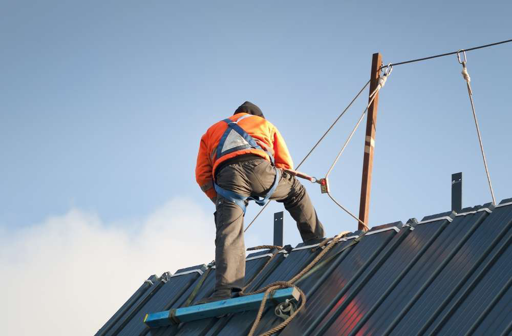 safety roof harness