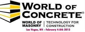 World of Concrete 2013