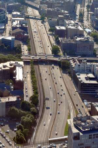Interstate 90 in Boston