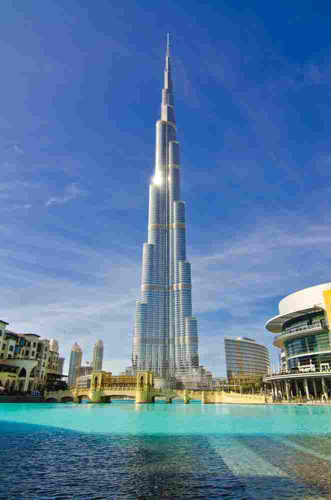 Sustainable building construction expected to increase in for Burj khalifa footprint