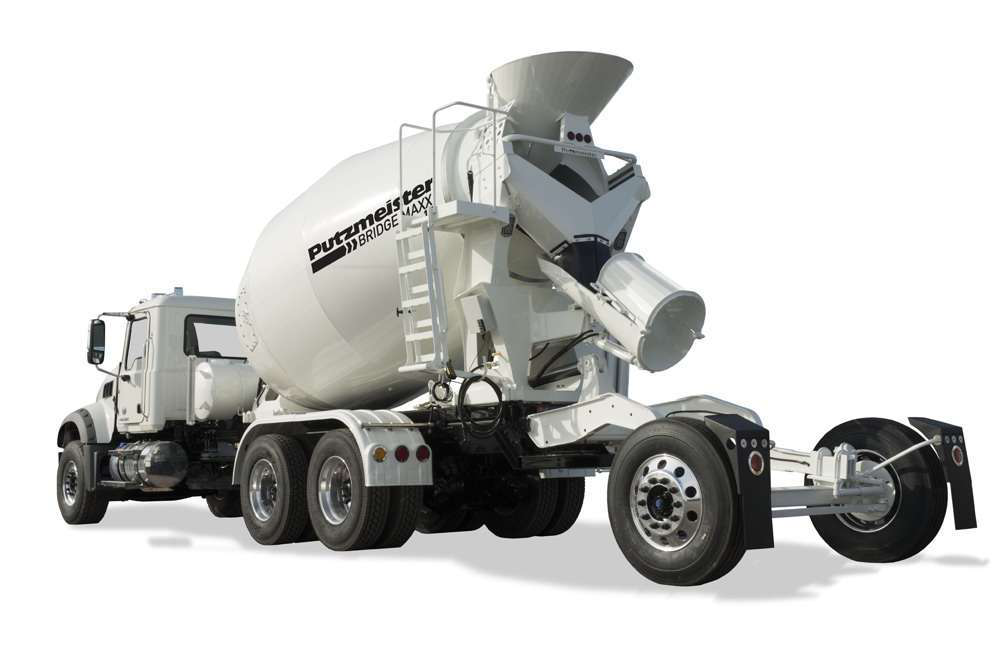 Ready Mix Concrete Trucks : Putzmeister america launches ready mix truck line at world