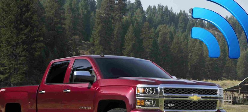 Chevrolet Silverado Wi-Fi