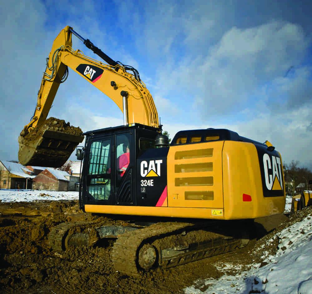 hydraulic advances make mid size excavators more versatile than