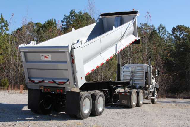 Ox Bodies Trail Ox steel end dump trailers