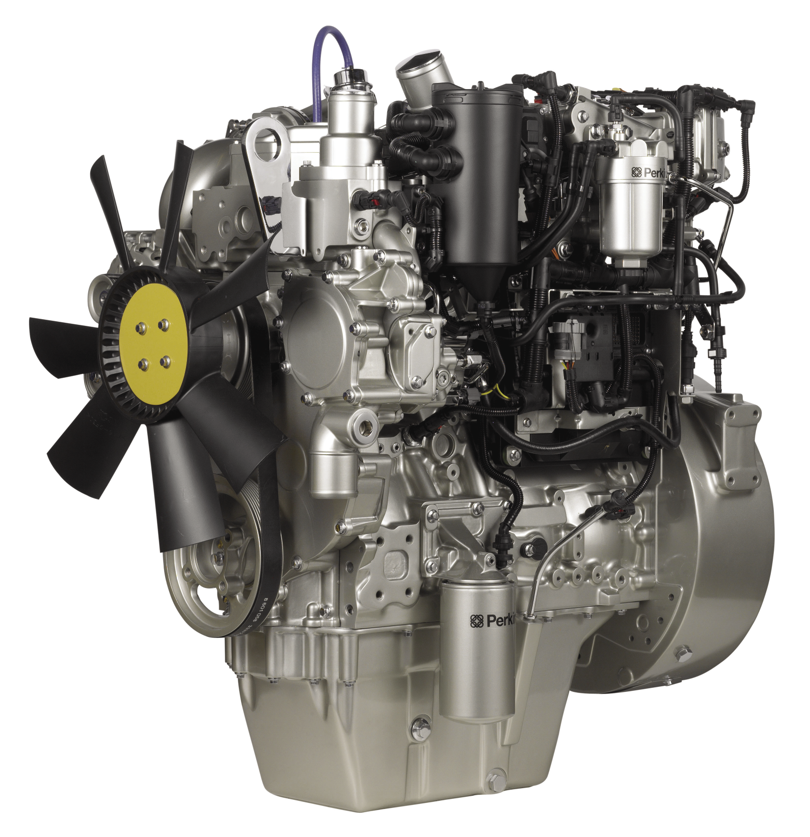 Perkins 1204F series engines do not need a DPF to meet ...