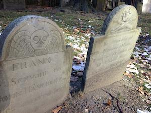Graves from Granary Burying Ground