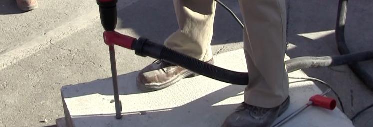 Hilti Hollow Drill Bit at World of Concrete 2013