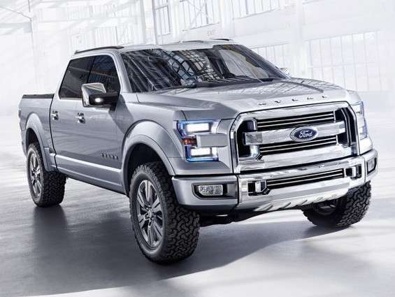 Ford Atlas Concept truck shown at the Detroit Auto Show