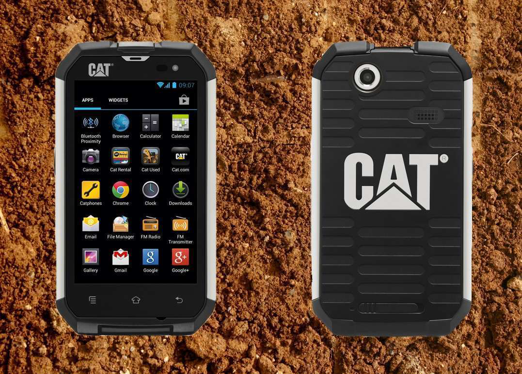 Just A Of Weeks Ago Caterpillar Launched Pretty Surprising New Product Not Dozer Or An Excavator But Phone Very Rugged Smartphone