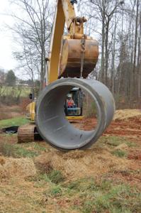 The company's fleet of 24-metric-ton excavators get heavy use.