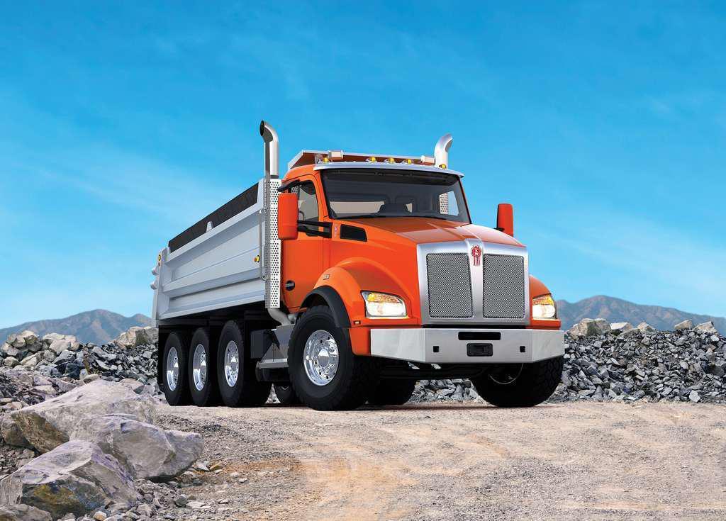 Kenworth T880 vocational truck