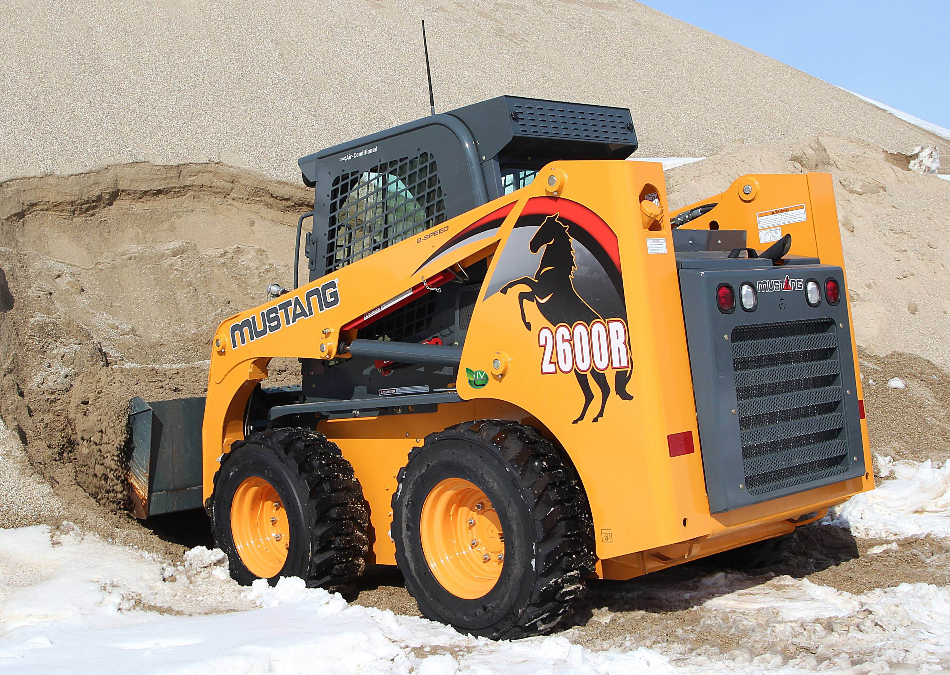 Mustang launches R Series skid-steers with Tier 4 engines