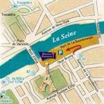 Paris map small