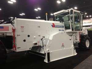 Roadtex SX-4e stabilizer at World of Asphalt 2013
