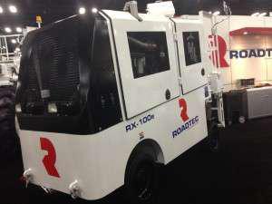 Roadtex RX-100e milling machine World of Asphalt 2013