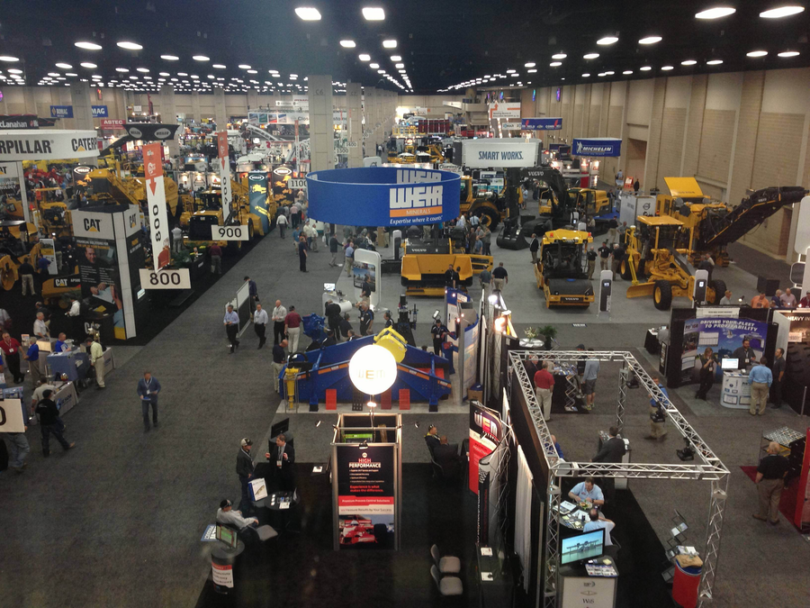 """It's always hard to judge a trade show from its first day. But World of Asphalt has the hallmarks of a good one. It's not size, this show is one of the more tailored one for construction equipment.   AEM chief Dennis Slater  is looking at numbers that suggest the attendance will near the last WOA's record setting level. In the two gap years between ConExpo's extravaganza in Las Vegas this show typically does better in the year right after Vegas than it does in the year before the next Vegas show. So the numbers are encouraging.  So is the an informal metric I use, a sort of basic rule of thumb. The ratios between entirely new equipment, upgraded equipment and """"new"""" equipment as in we've seen this at shows before int he last year or so, is an important one. That requires defining """"new"""" of course. But so far, in one morning, I have been impressed with exhibits actually being introduced to the market at this show. Both Roadtec and Case have impressive debutantes.  The show floor is also an impressive place. There is a lot of big iron here, and that's another of those informal metrics that I like to use. The cost in time, effort and money to bring the big stuff is a reasonable indicator of optimism.  There's not so much of that old-fashioned optimism -- we are post-recession recovery after all. And there's a now familiar feeling of flat sales, but I think time with some occasional, to use the new vernacular, hot spots.  Now, to San Antonio's Riverwalk for lunch!"""